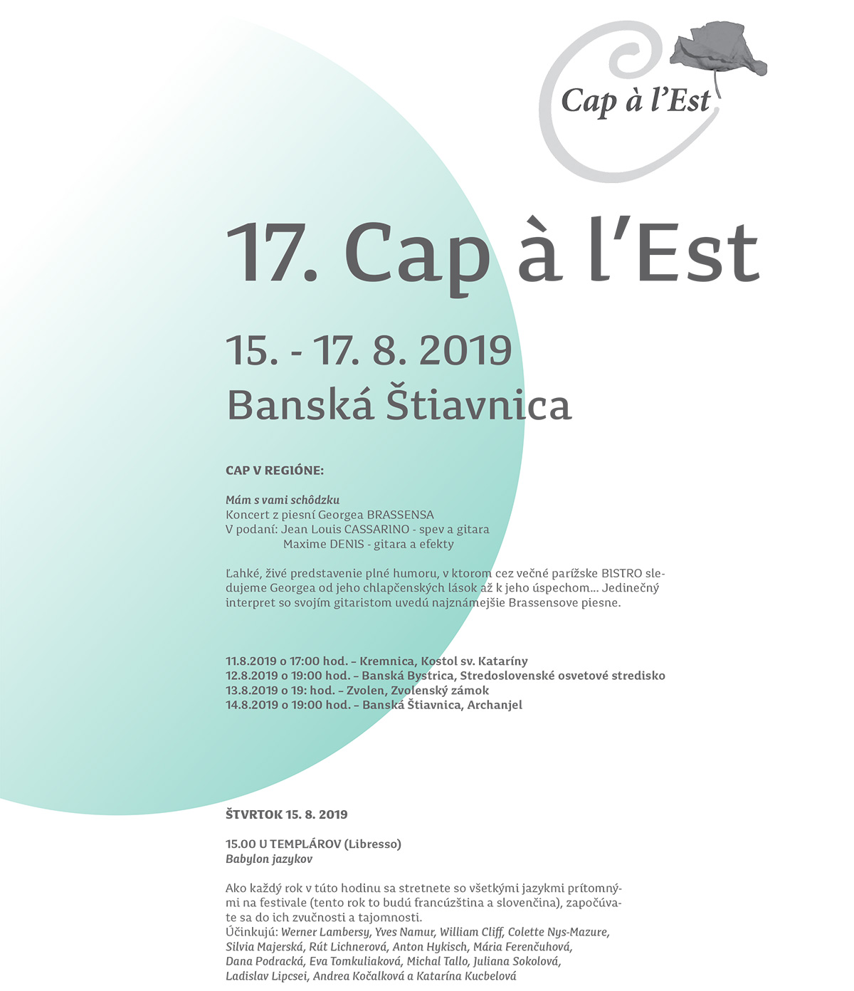 Capalest 2019